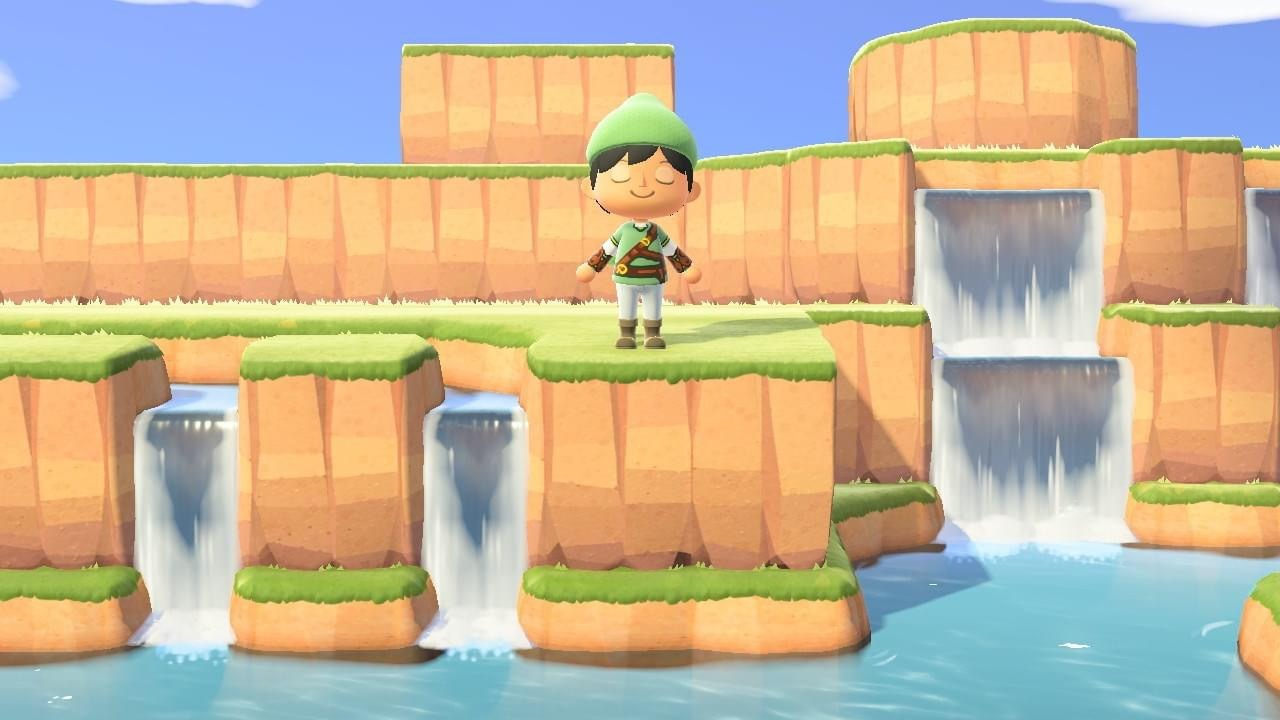 Hyrule Comes to ANIMAL CROSSING: NEW HORIZONS Thanks and Inventive Player_1