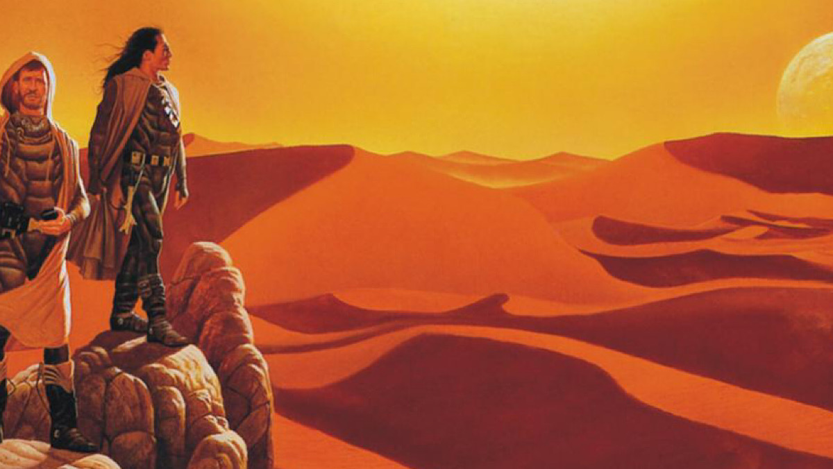 The cover for the novel Dune: House Atreides.