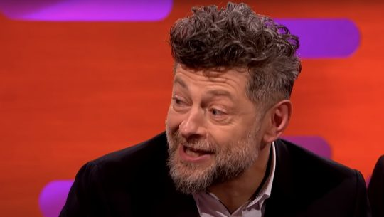 Andy Serkis on The Graham Norton Show.