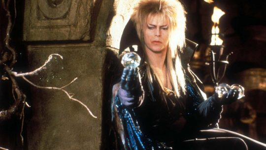 David Bowie as the Goblin King in Labyrinth.