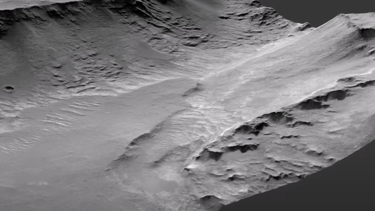 Evidence Found of Mars Rivers Active for 100,000 Years
