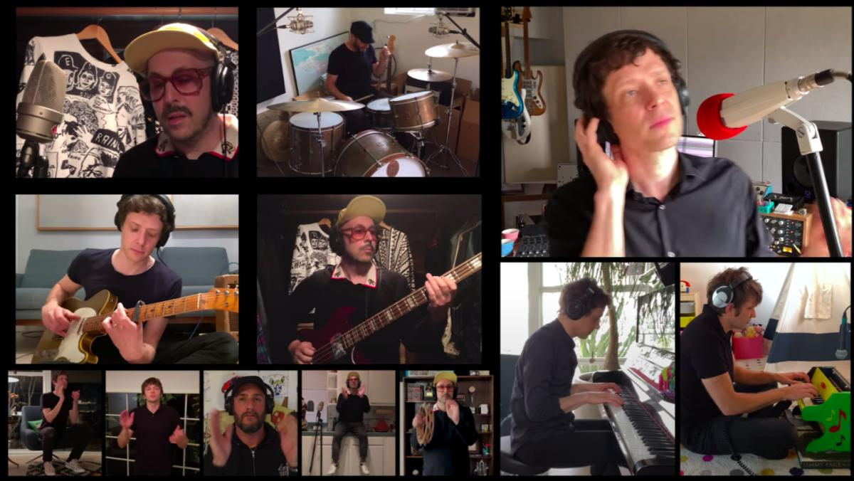 OK Go Record Self-Isolation Music Video For Charity_1