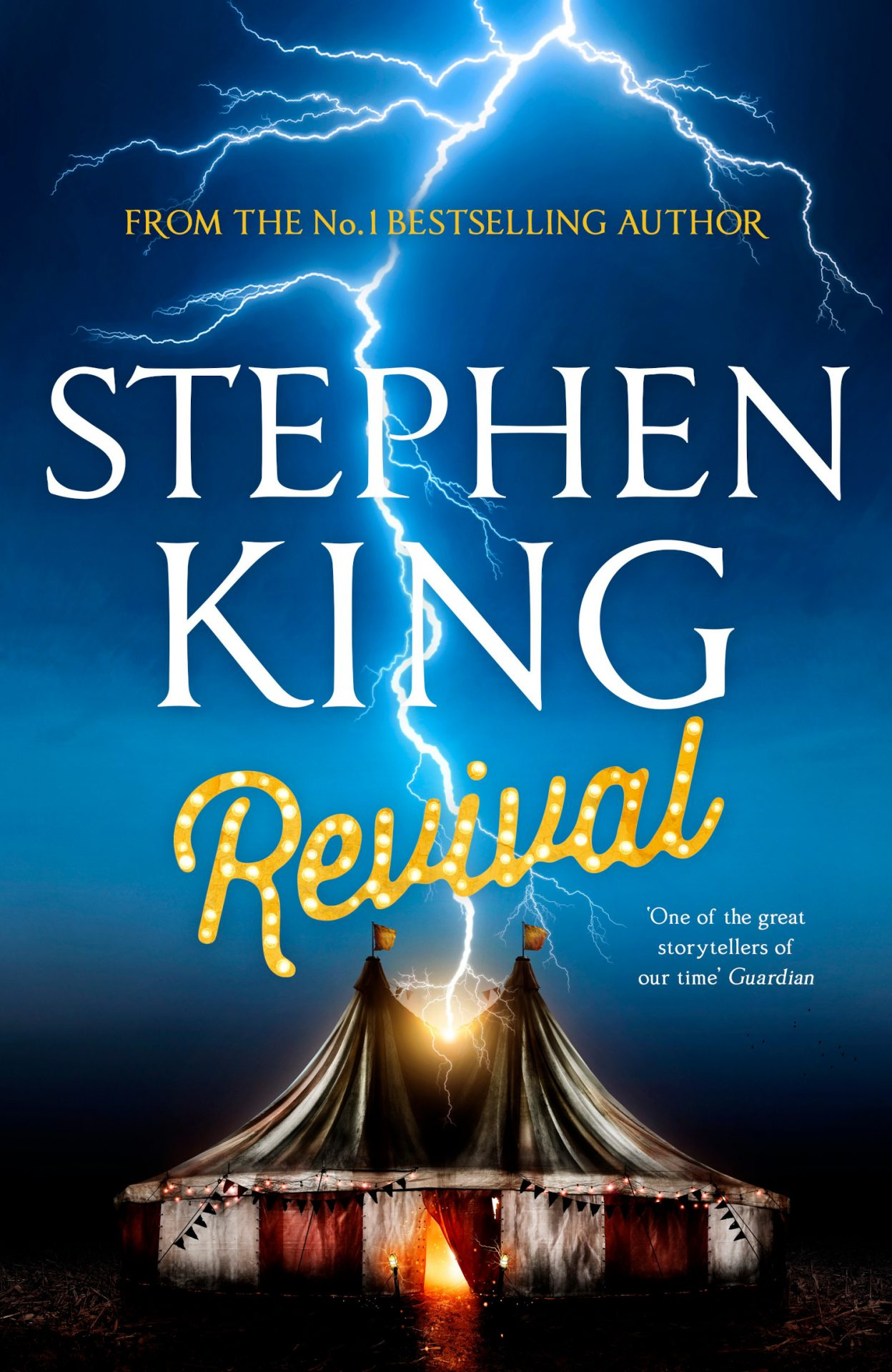Stephen King's revival book cover