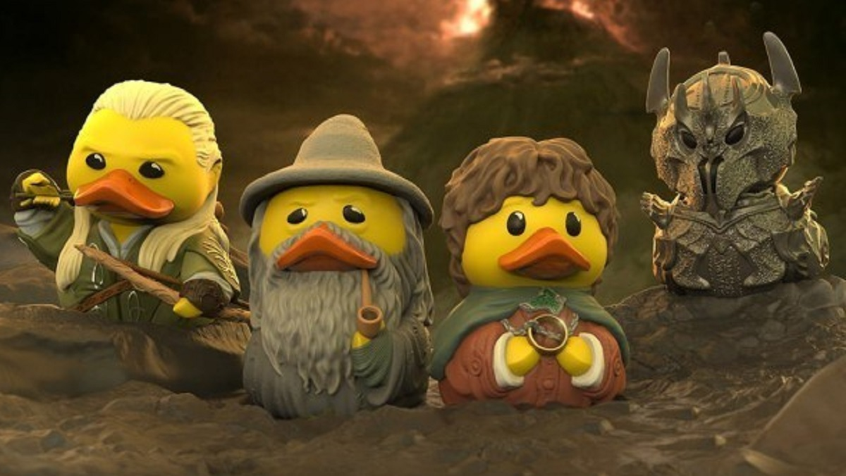 LORD OF THE RINGS Rubber Duckies Bring Middle-Earth to Your Tub