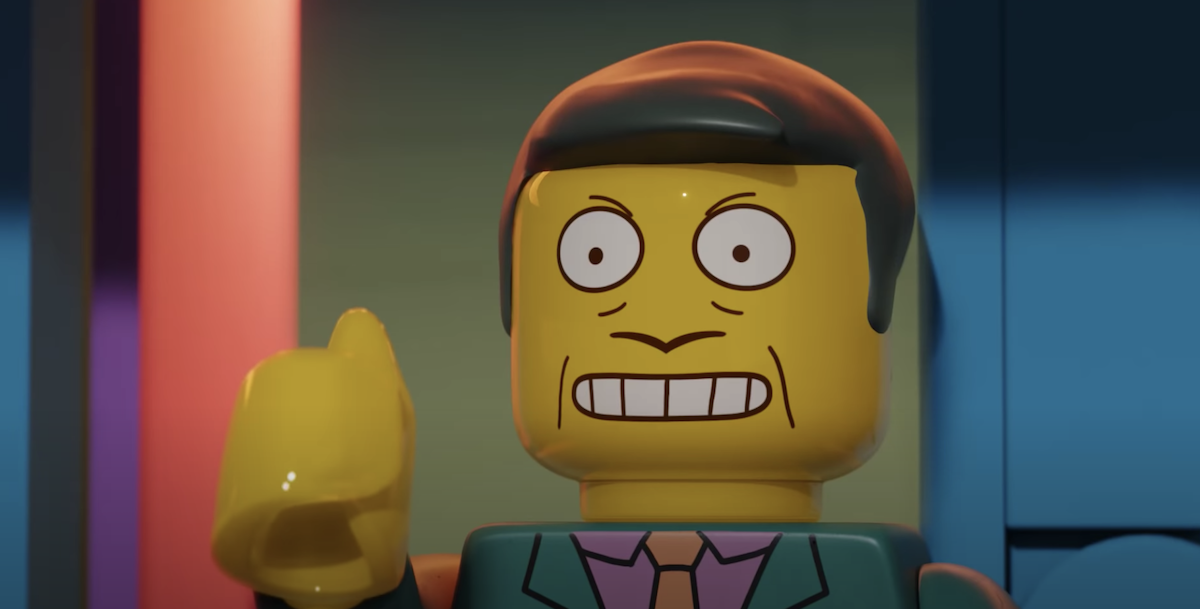 THE SIMPSONS' Steamed Hams done entirely in LEGO.