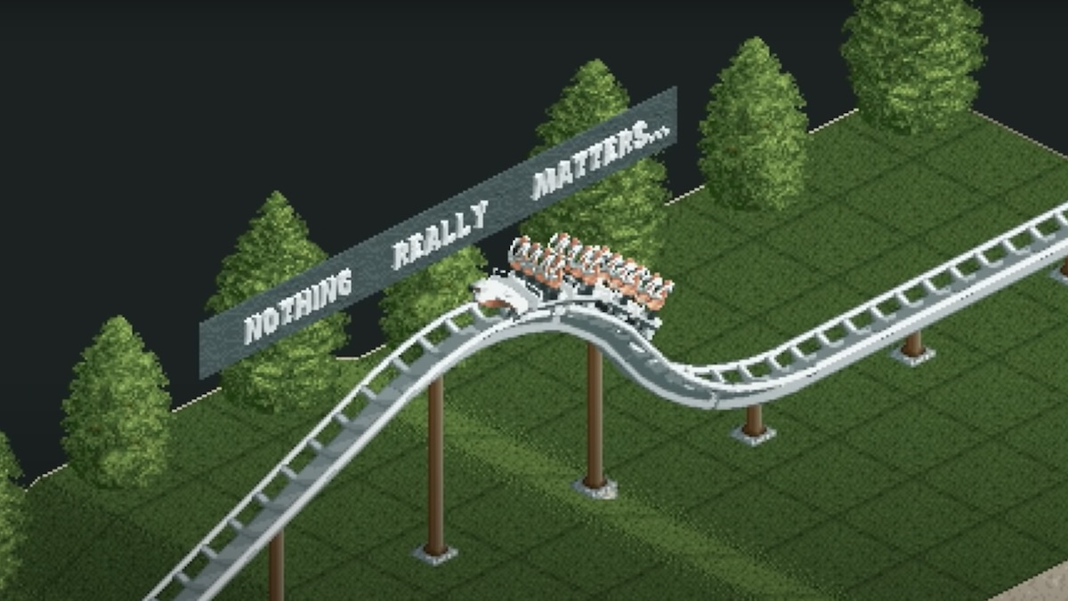 Roller Coaster Synced Entirely to Queen's