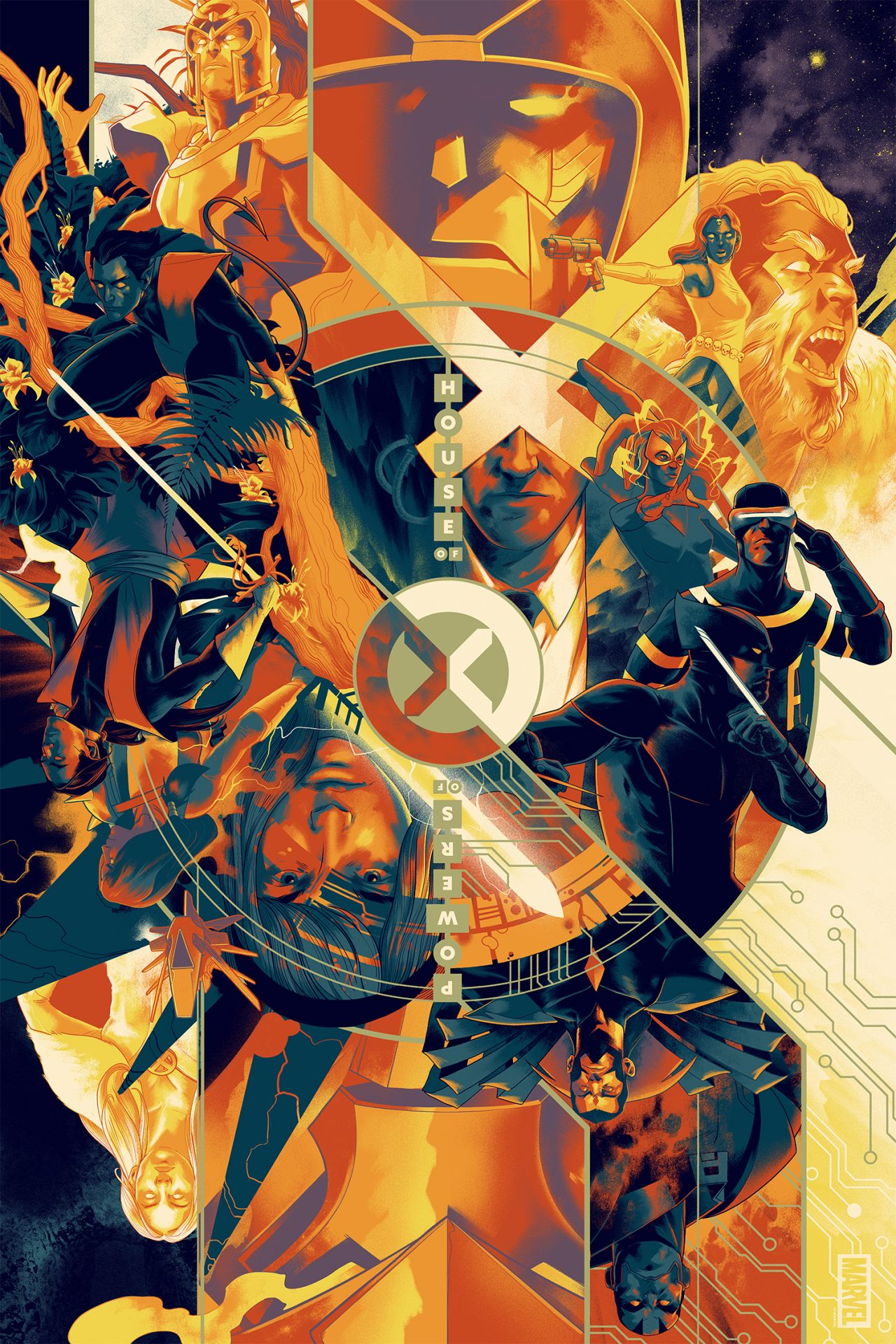 House of X / Powers of X by Matt Taylor