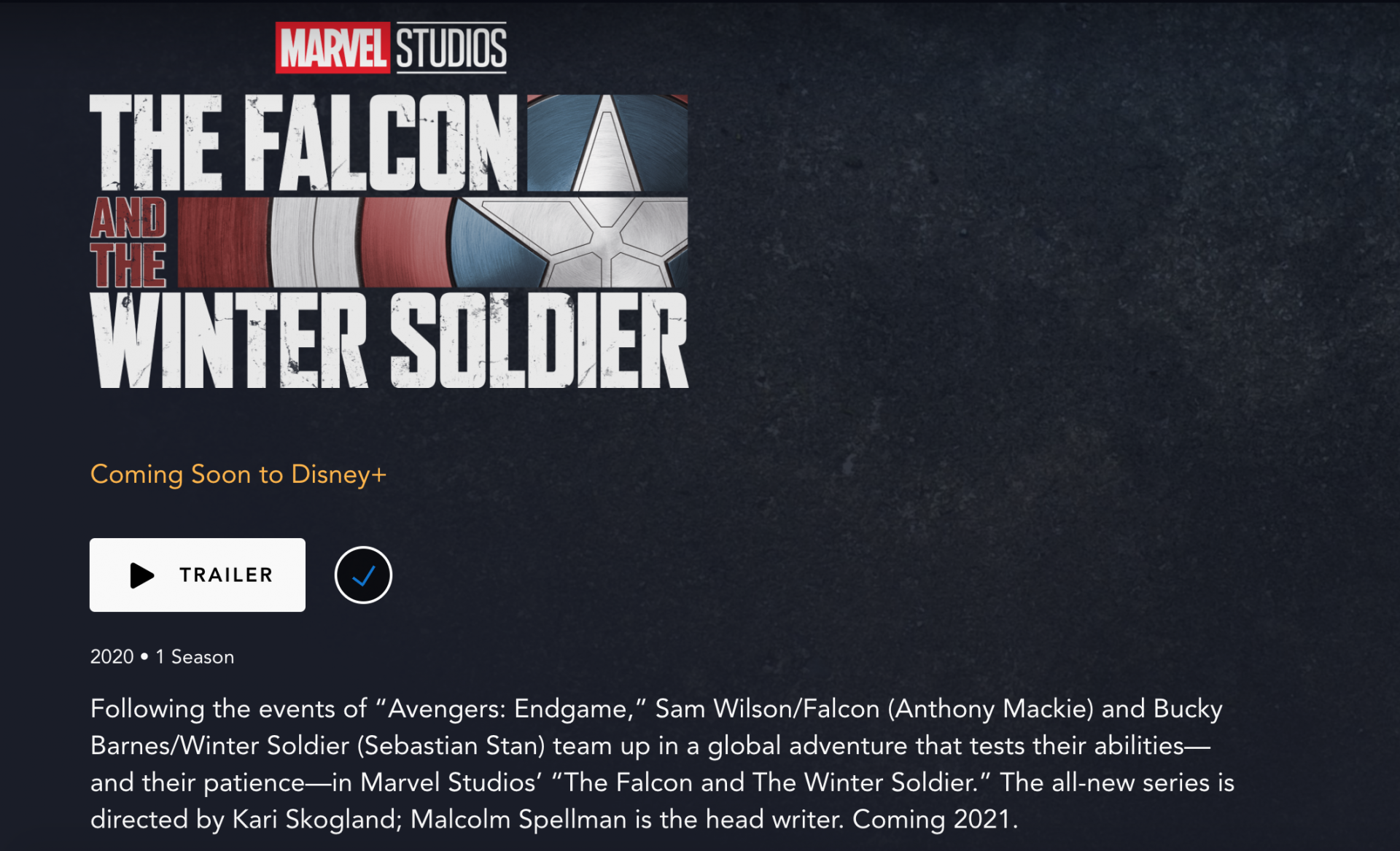 The Falcon and Winter Soldier screen shot