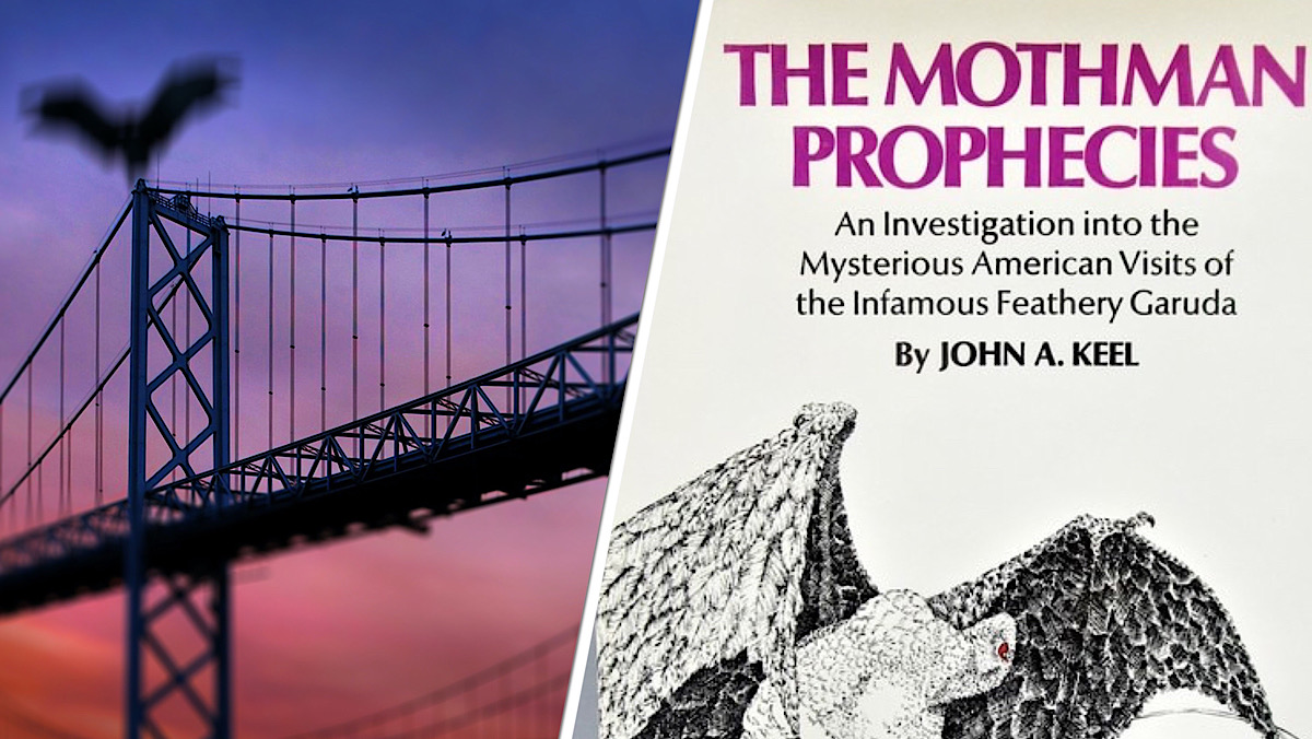 Mothman Prophecies Book Cov
