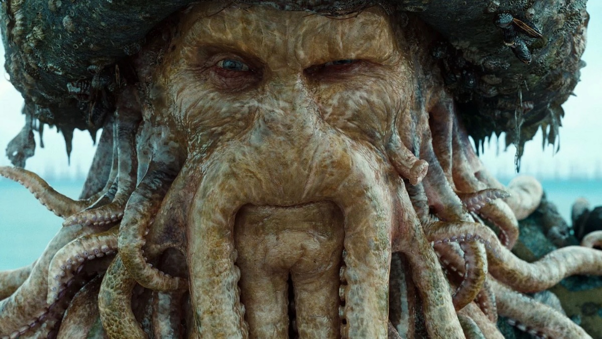 Davy Jones from Pirates of the Caribbean.