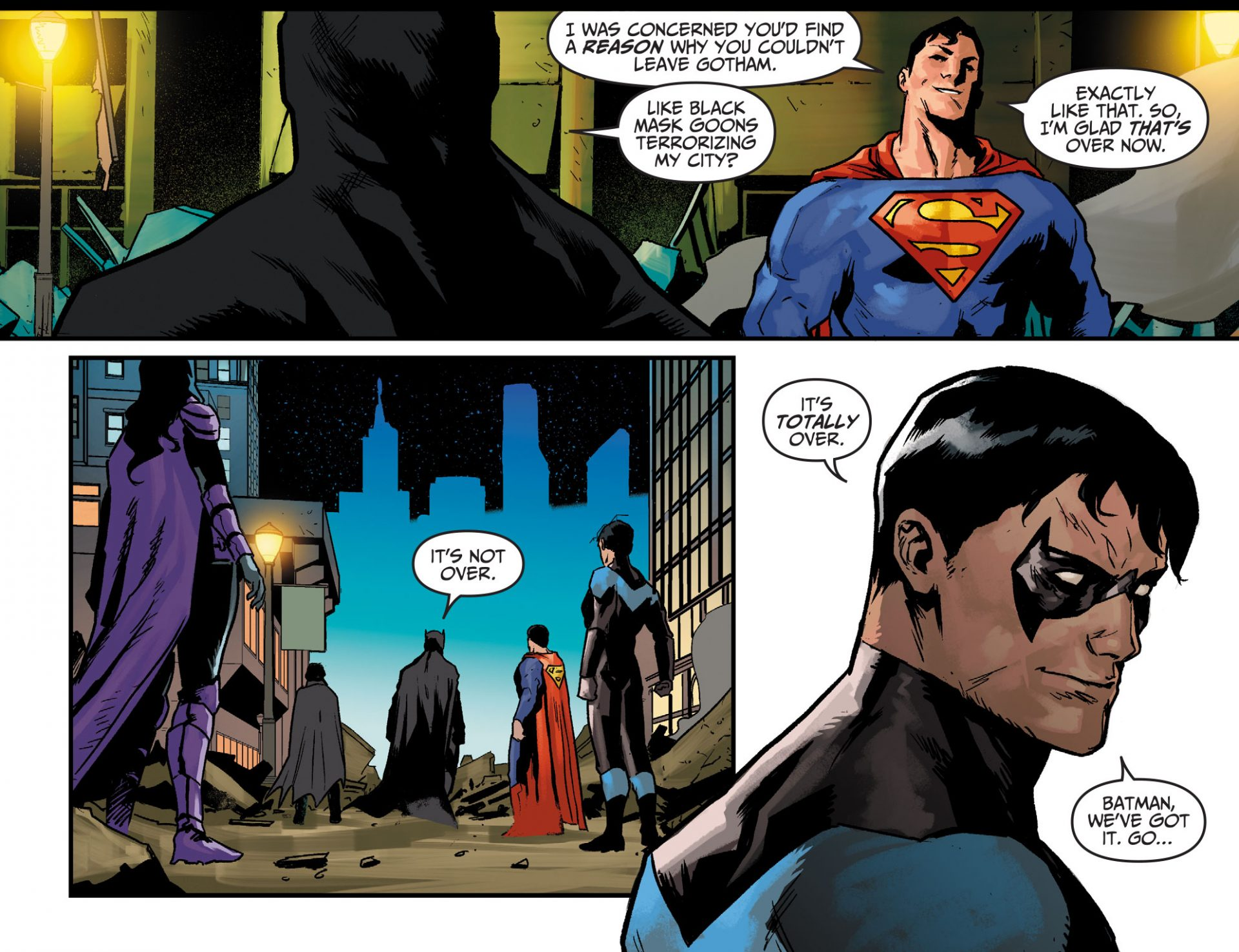 Injustice: Year Zero chapter 1 preview