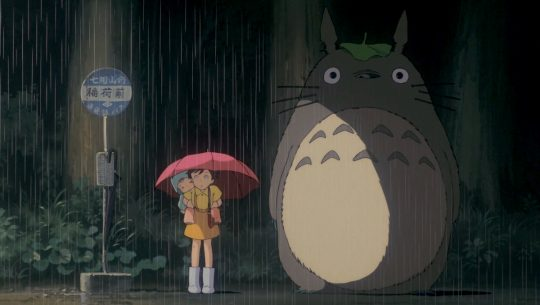 My Neighbor Totoro bus stop