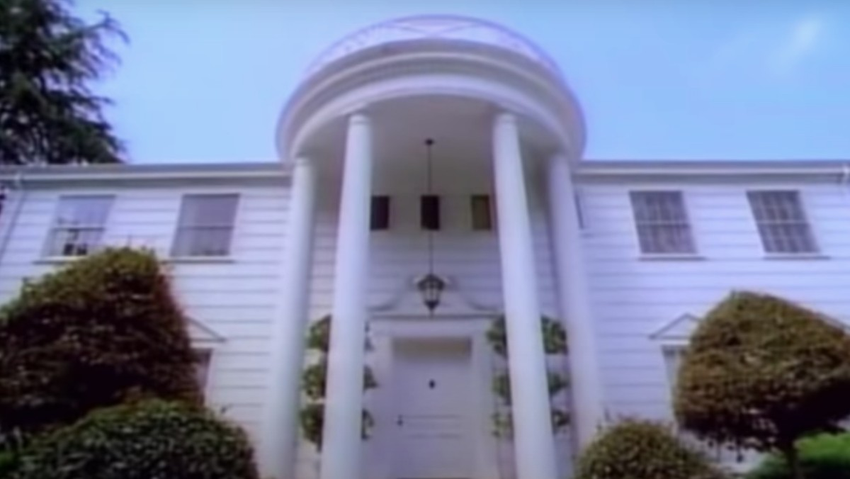 The mansion from the opening credits of The Fresh Prince of Bel-Air.