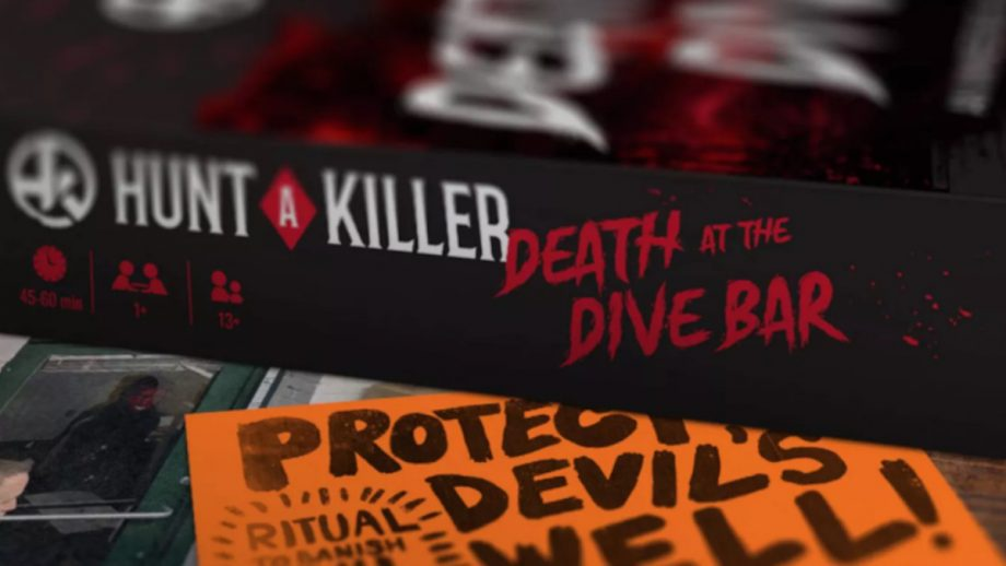 Hunt a Killer: Death at the Dive Bar box