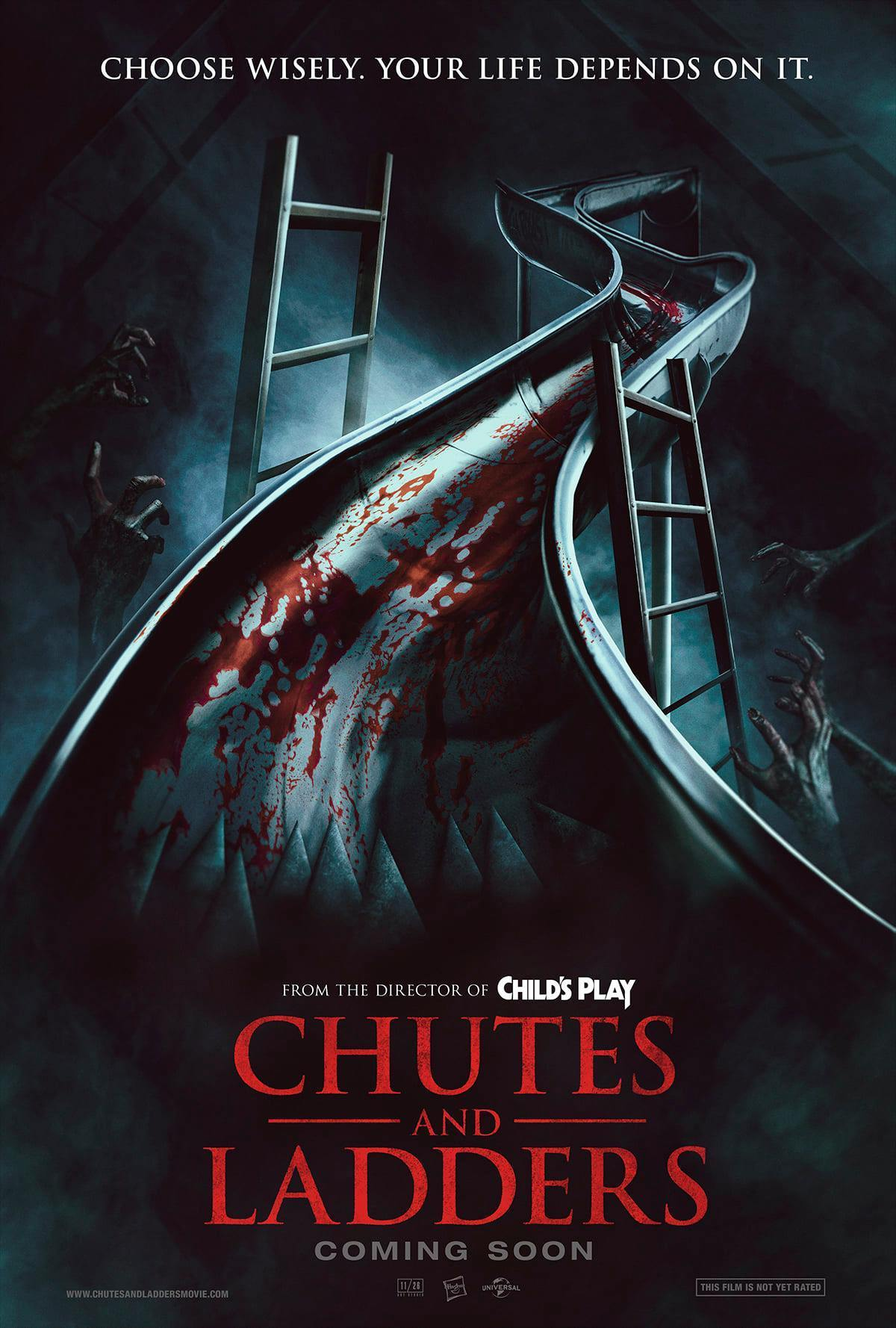 Chutes and Ladders horror movie concept