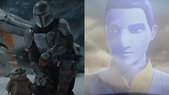 The Mandalorian and Ezra Bridger