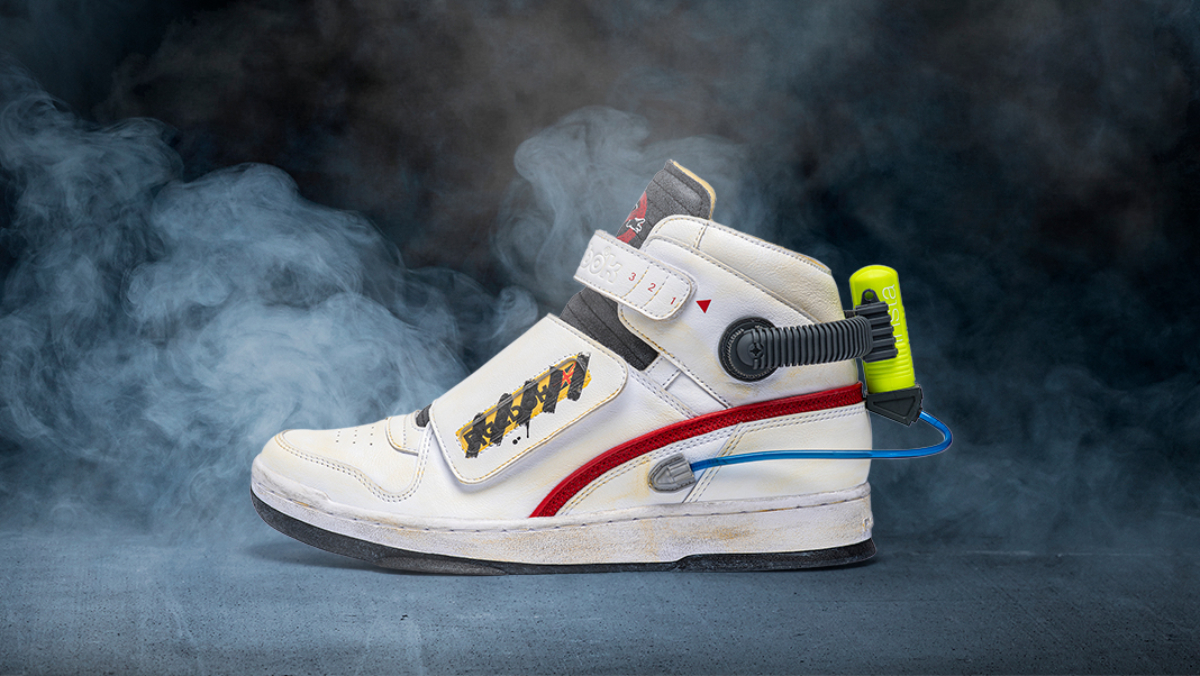 New GHOSTBUSTERS Sneakers Come with Mini Proton Packs - Nerdist