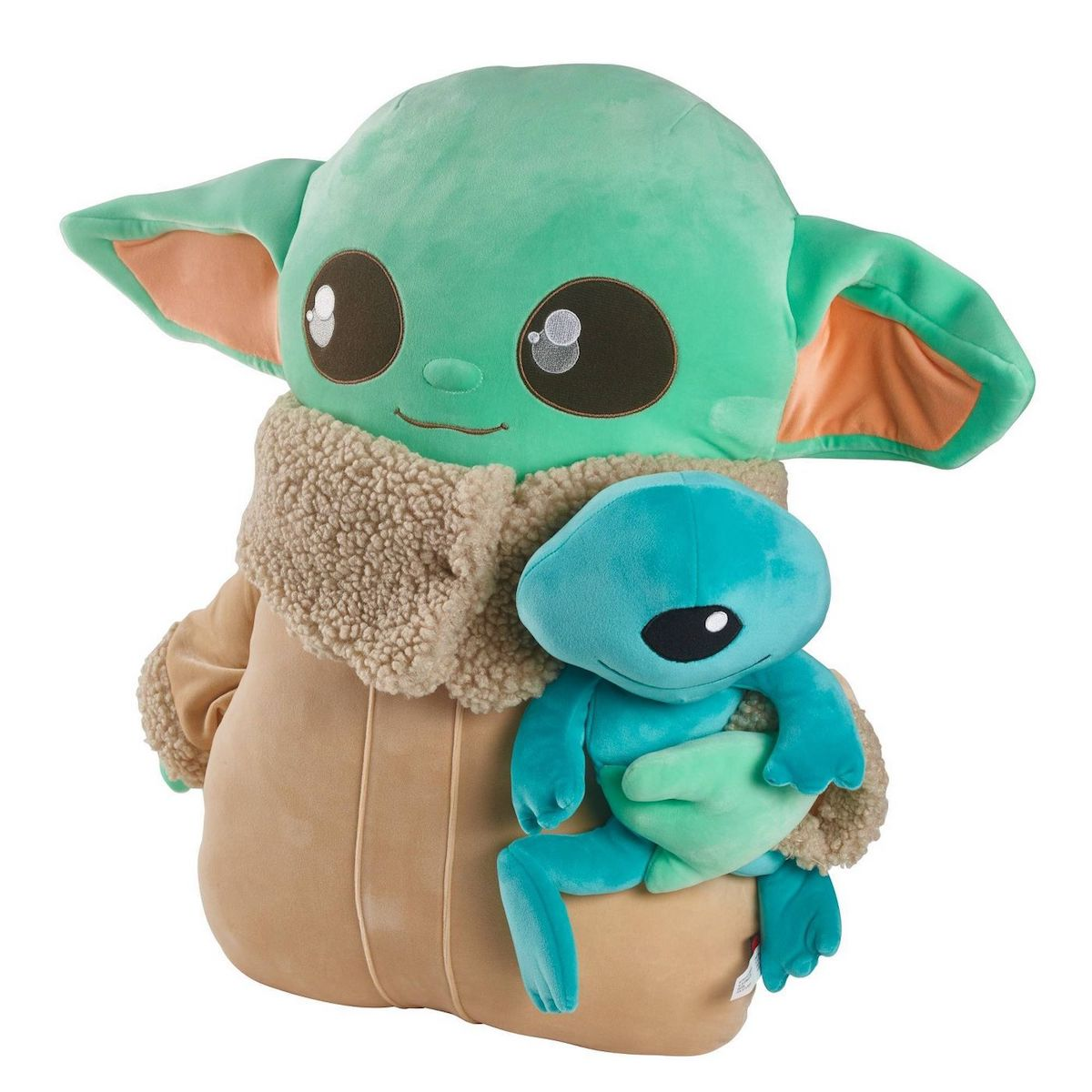 Giant BABY YODA Plush is Bigger than The Real Child_2