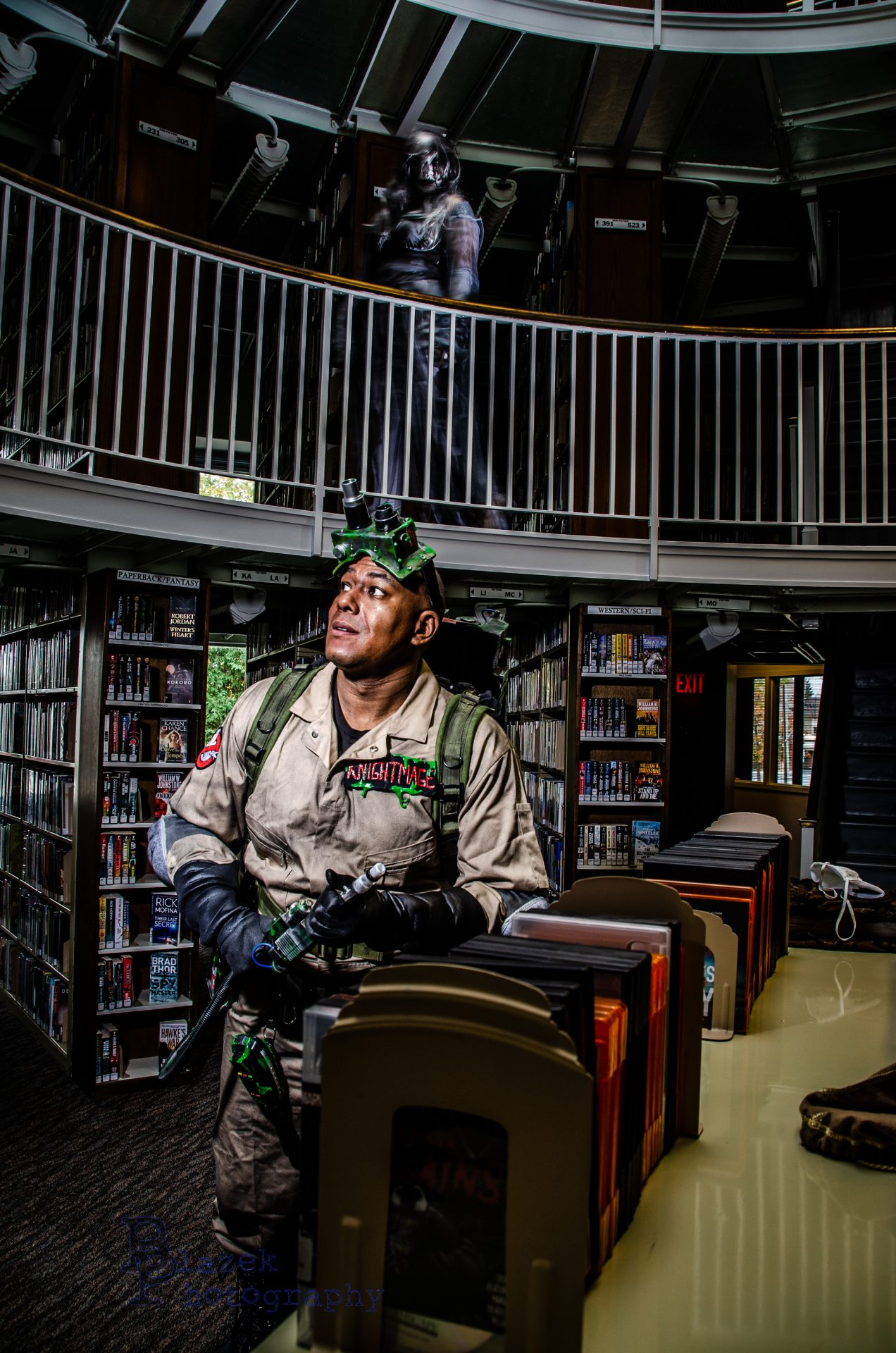 GHOSTBUSTERS Cosplay Gives a Spooky Spin to a Classic Scene_1