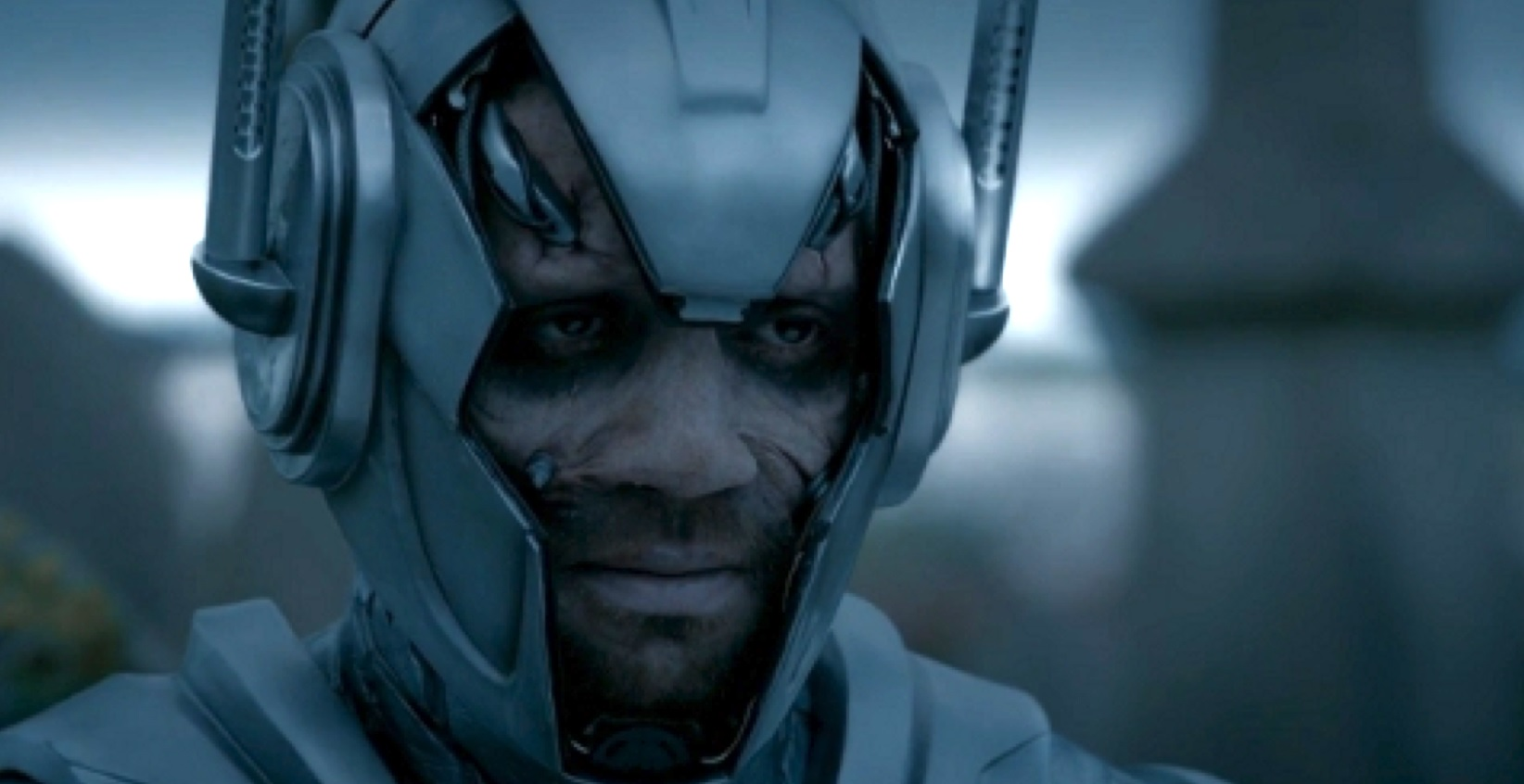 Sam Anderson as Danny Pink, as a Cyberman, in Doctor Who.