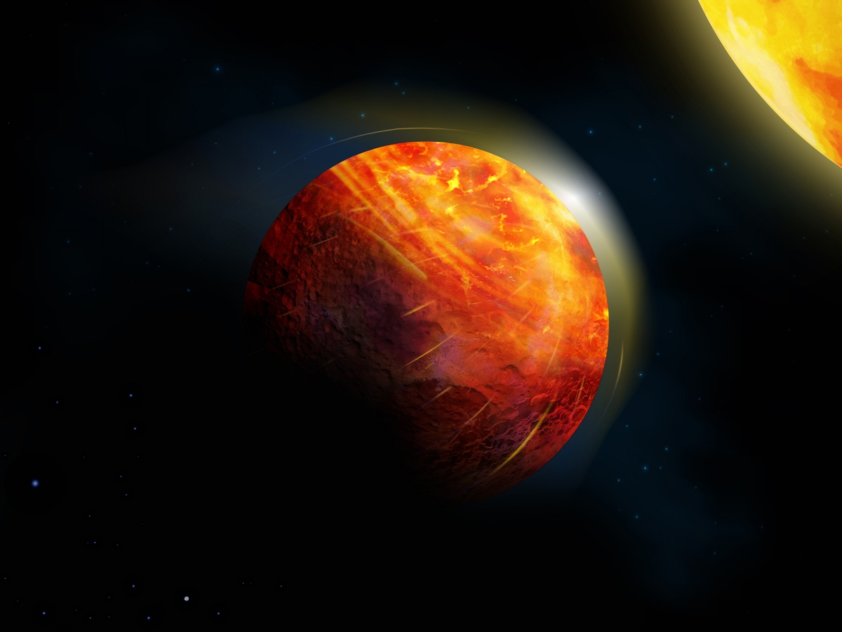 Scientists say the 'water cycle' on this hellish exoplanet has been replaced with a rock cycle.
