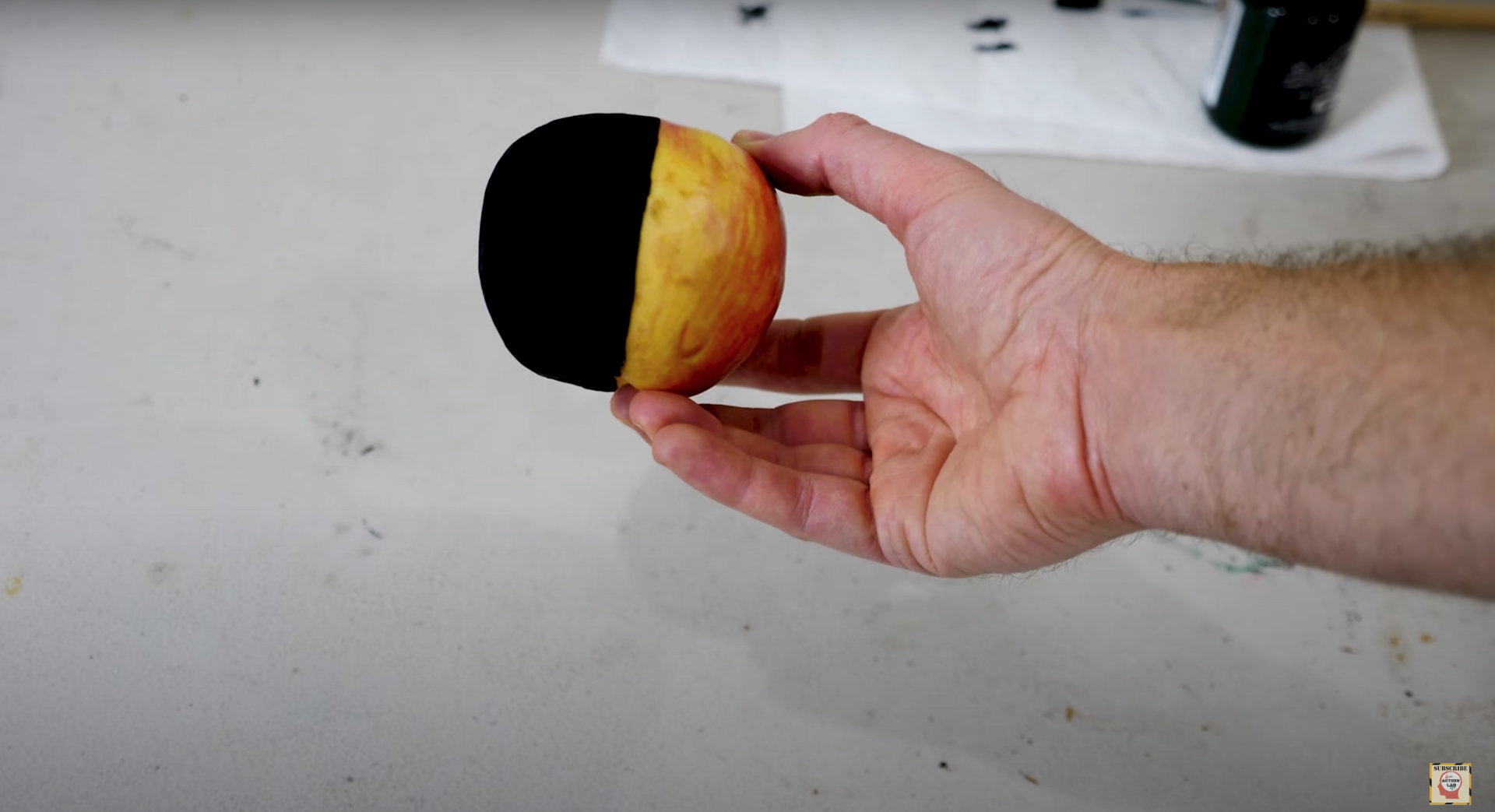 This new ultra-black paint from Japan can absorb 99.4% of visible light.