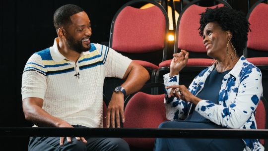 Will Smith Janet Hubert sit together for Fresh Prince reunion special