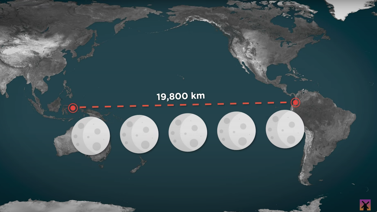 This Video Visualizes Just How Huge the Pacific Ocean Is