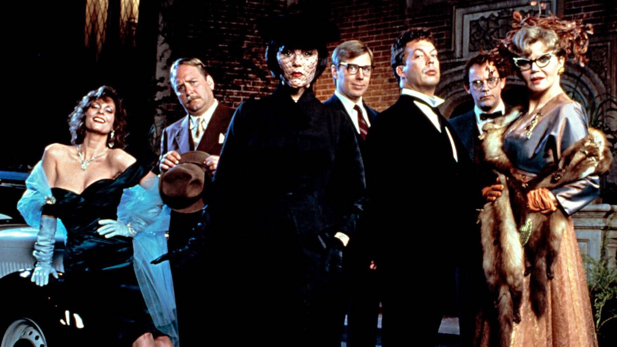 the cast of Clue the movie
