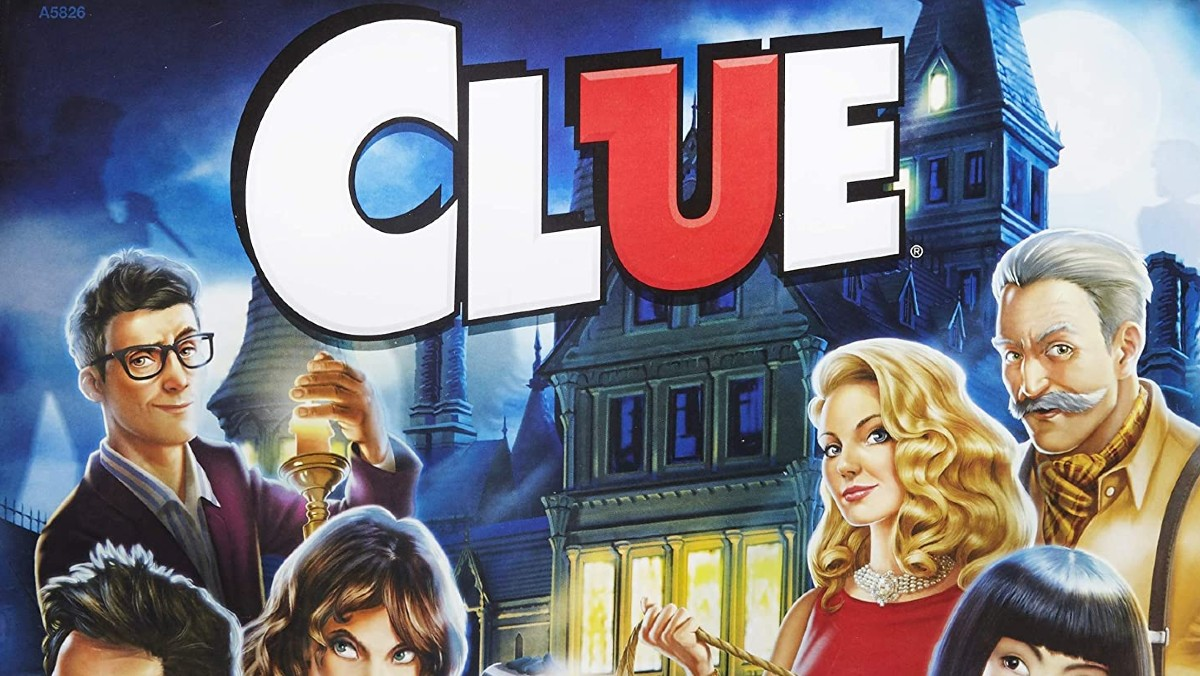 Cover art for the board game Clue.