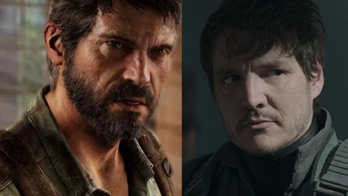 Joel and Pedro Pascal side by side