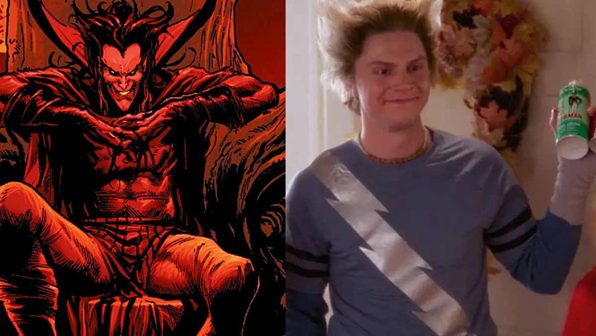 Artist Imagines WANDAVSION's Evan Peters as Mephisto_1