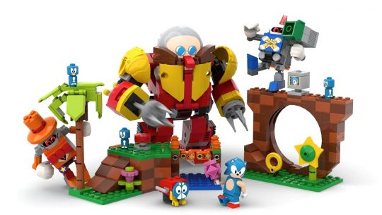 A potential LEGO Sonic the Hedgehog set.