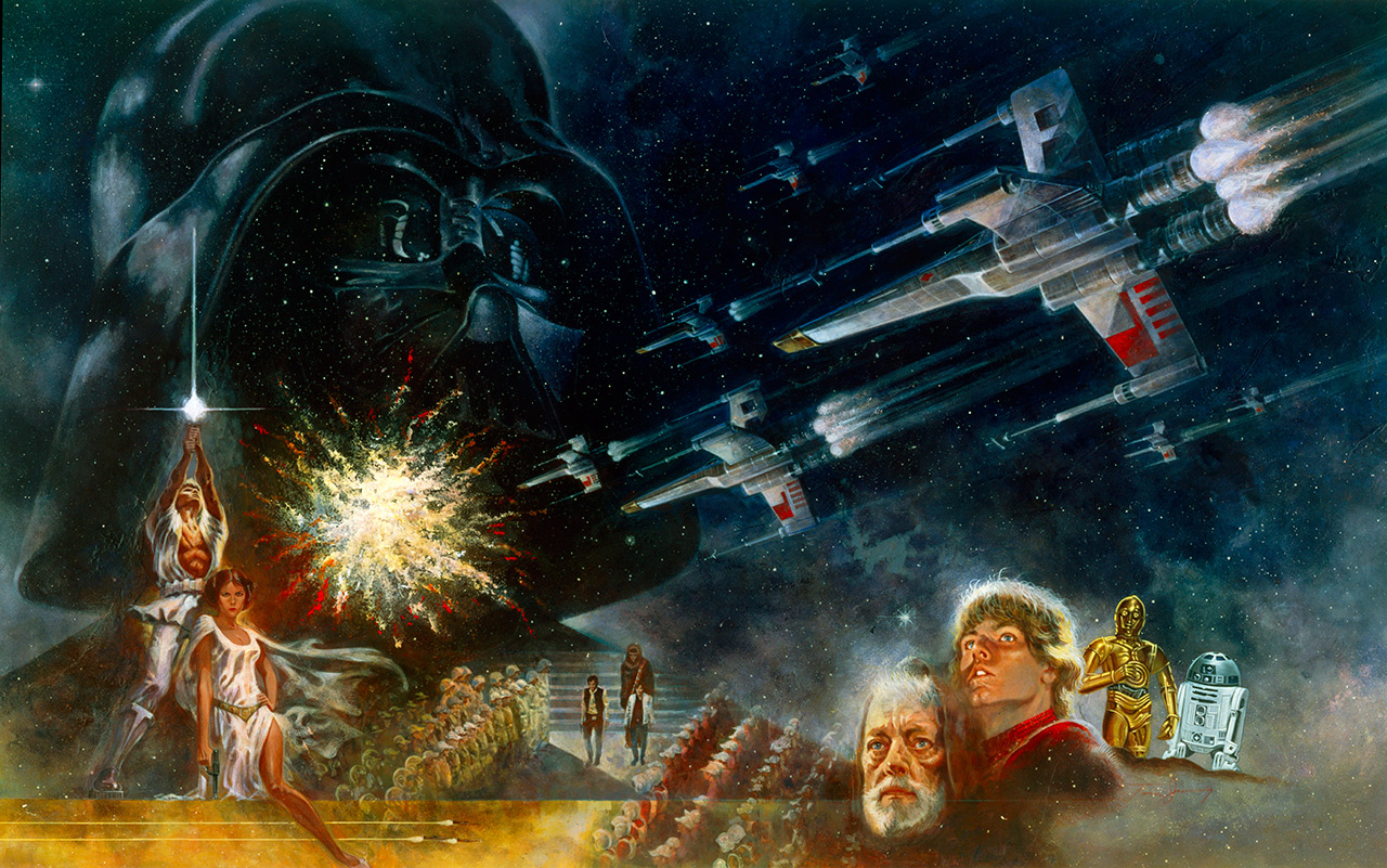 Video Describes What it Was Like Seeing STAR WARS in 1977_1