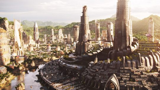View of Wakanda