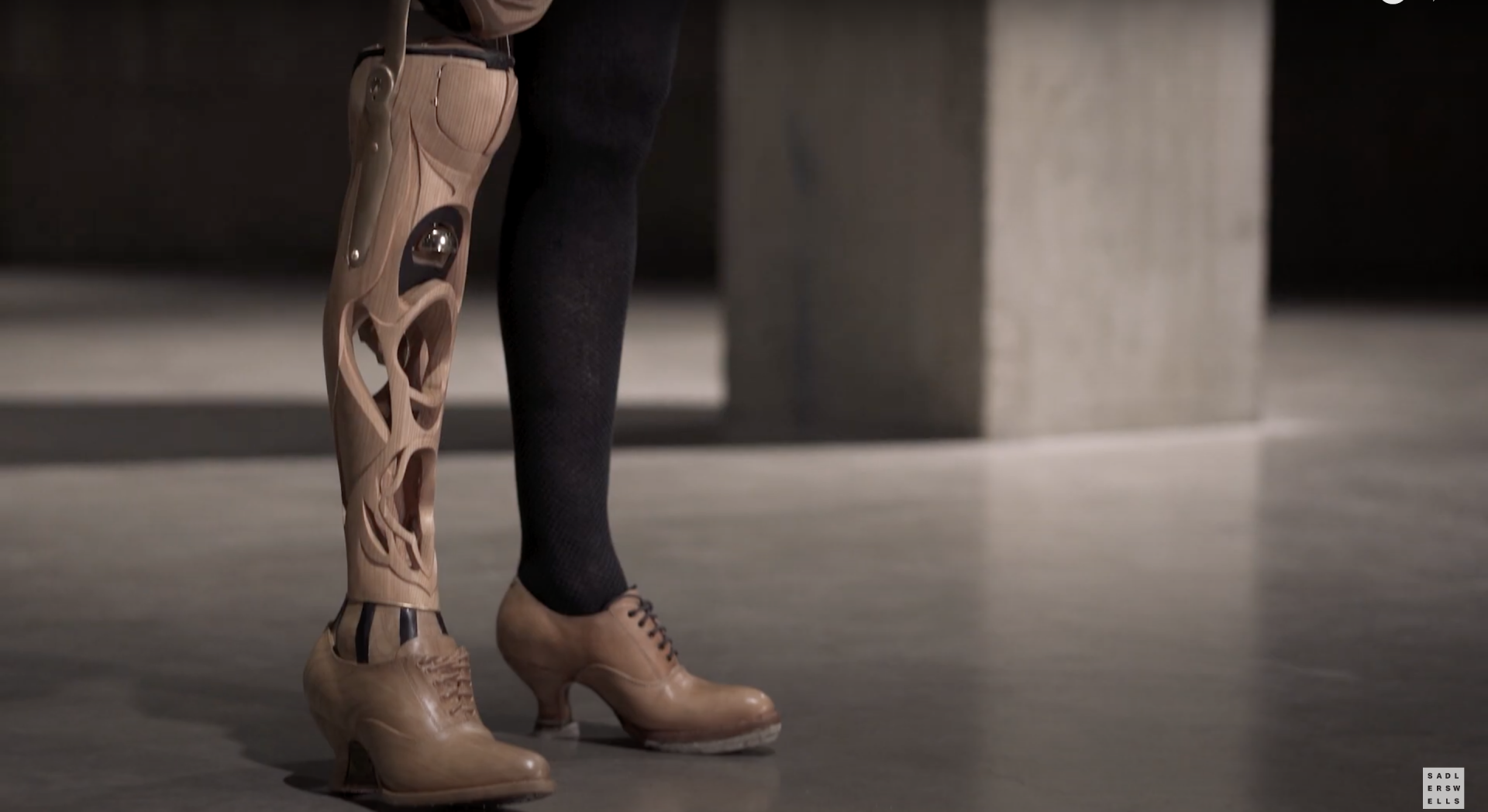 Prosthetic specialist, Sophie de Oliveira Barata, makes functional faux limbs that are literally works of art.