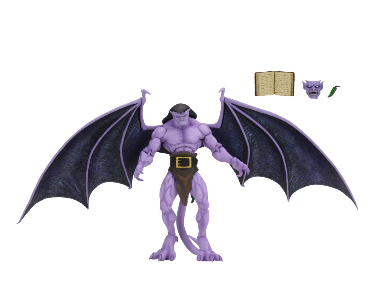Goliath action figure with his accessories