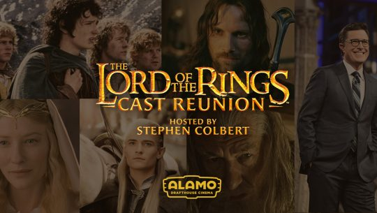 Lord of the Rings cast reunion key art