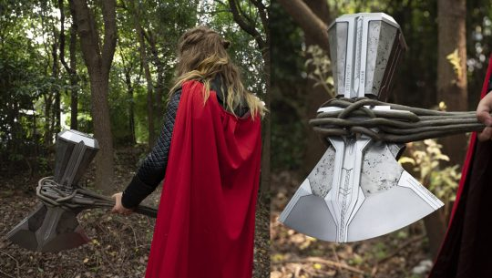 This replica Stormbreaker ax will make you feel like an Asgardian god.