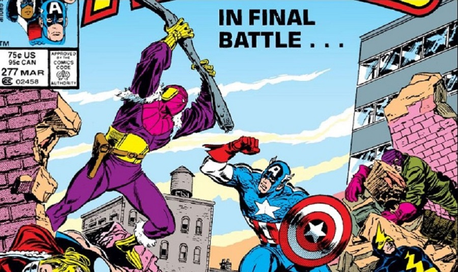 In Avengers 277, Baron Zemo and the Masters of Evil nearly bring the Avengers to their knees.