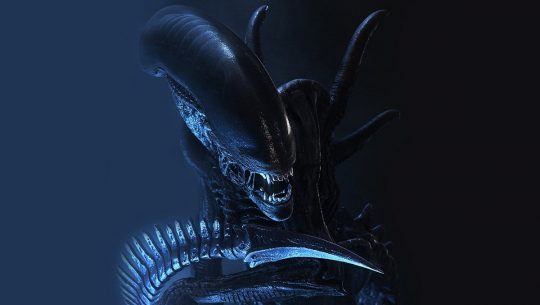 The xenomorph from Aliens, which terrorized planet LV-426.