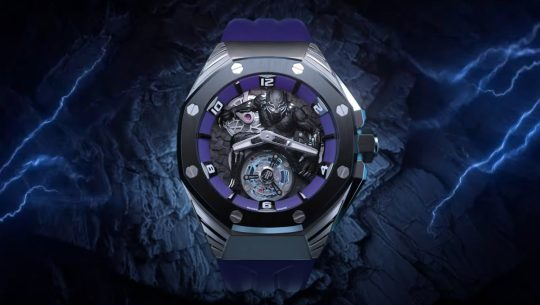 Luxury watchmaker, Audemars Piguet, has come out with a line of ultra-expensive Black Panther wristwatches that likely cost north of $100,000.
