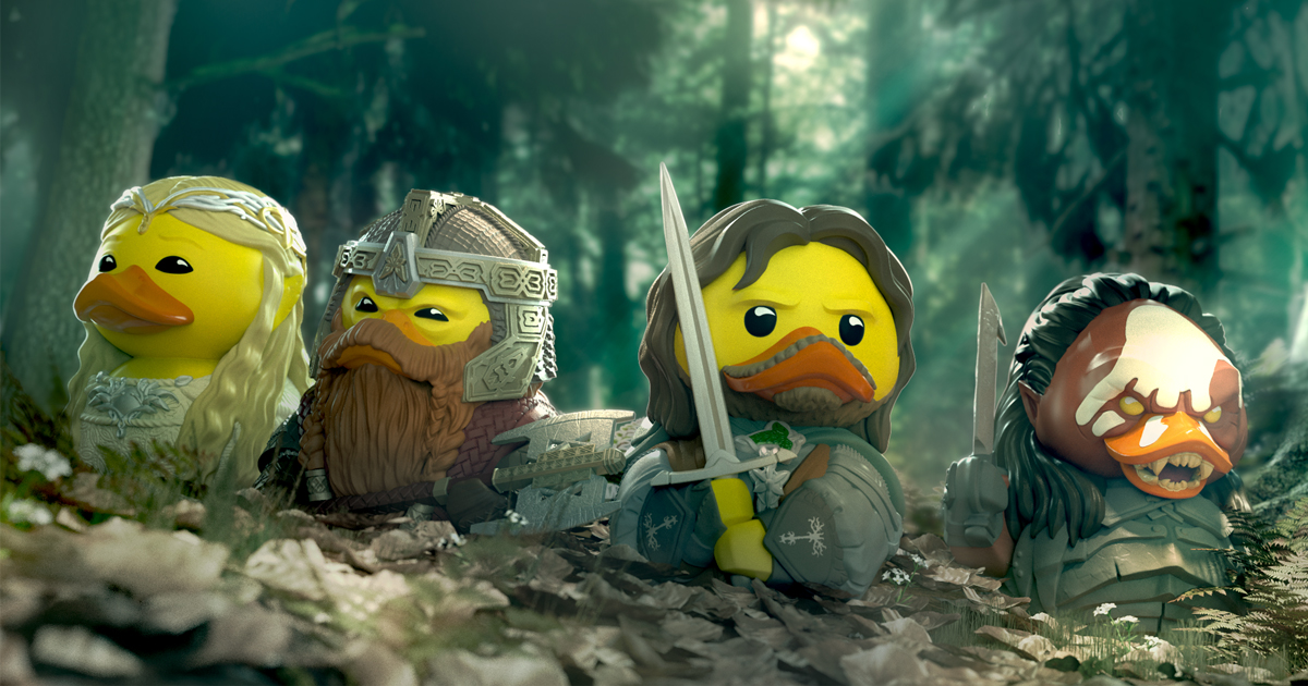 Gimli, Galadriel, and More Join LORD OF THE RINGS Rubber Duckies_25