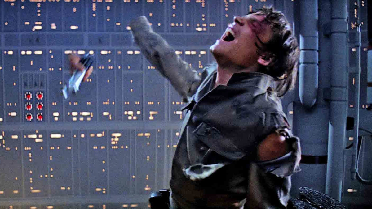 Luke Skywalker loses his hand to Daddy's saber in The Empire Strikes Back.