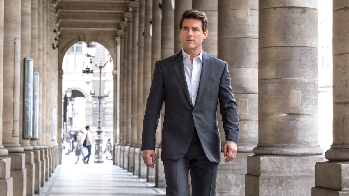 Tom Cruise in Mission: Impossible - Fallout.