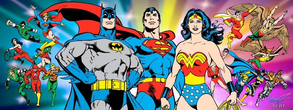 The most iconic versions of the DC heroes were used for the Super Powers line, drawn by José Luis García-López'.