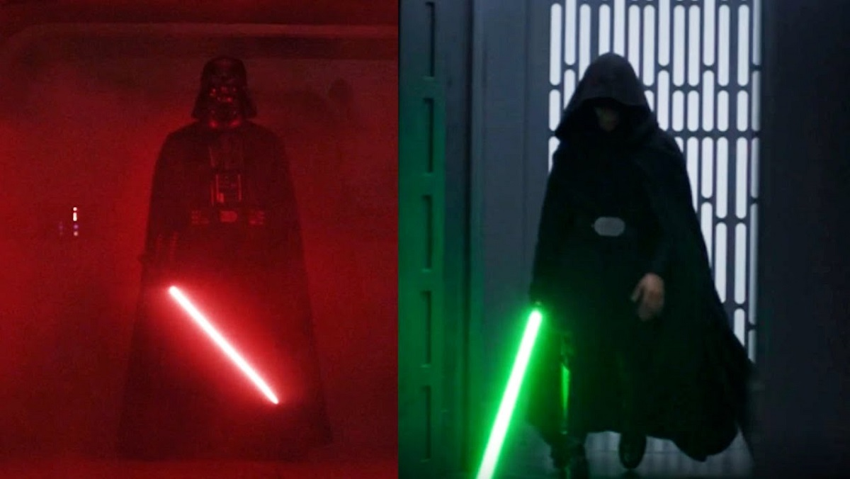 Darth Vader in Rogue One, and Like Skywalker in The Mandalorian.
