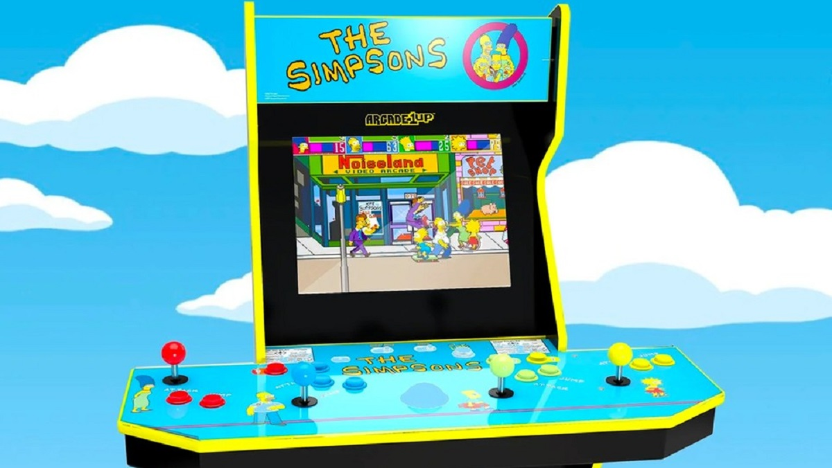 The Simpsons Arcade Game replica edition.