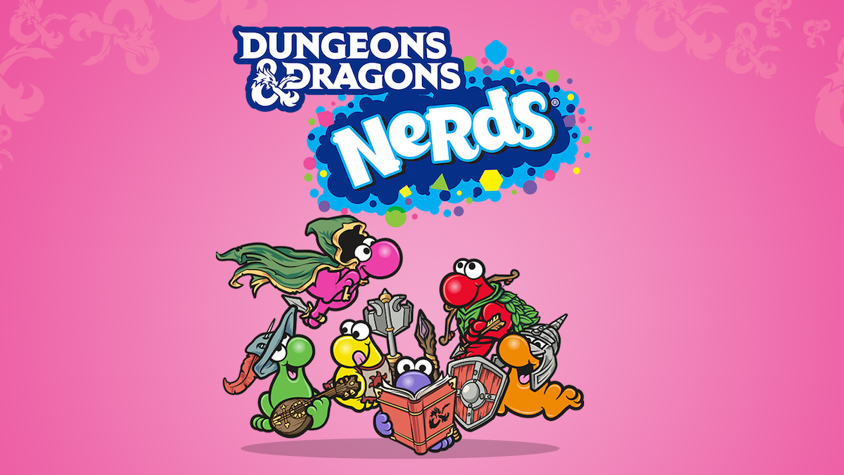 Nerds candy joins the D&D party